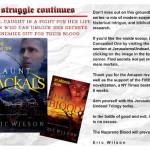 Teaser for Eric Wilson's Haunt of Jackals