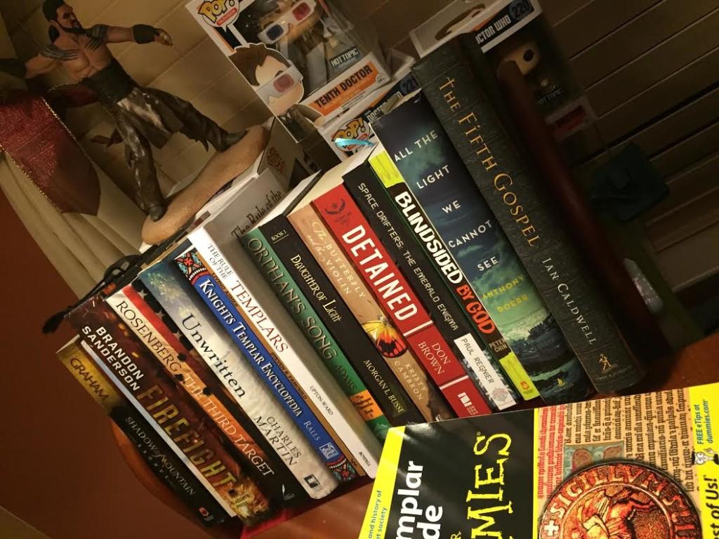 Ronie's bookshelf
