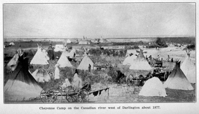 Cheyenne Camp - Darlington (okhistory.org)