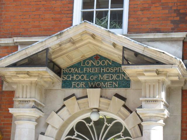 Door of London School of Med (2)